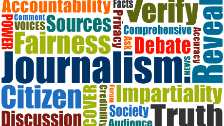 Journalism college class subjects