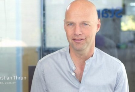 Want to Save Lives Building Driverless Cars? Sebastian Thrun Wants To Make You An Engineer Of The Future